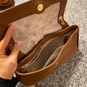 MK Michael Kors brown leather purse